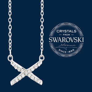 "Swarovski ""X"" Necklace"