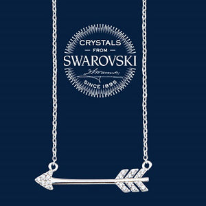 Swarovski Arrow Necklace