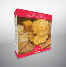 Load image into Gallery viewer, Three Cheese Garlic Biscuit Mix