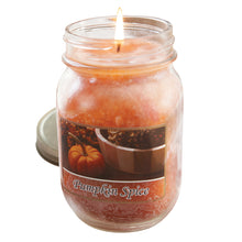 Load image into Gallery viewer, Pumpkin Spice Mason Jar Candle