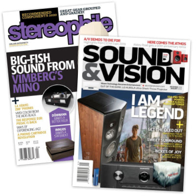 Sound & Vision + Stereophile Combo