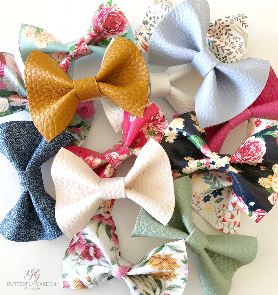 Delicate Bows- lots of prints & colours to choose from!