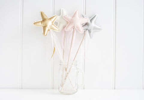 Alimrose Amelie star wand - 3 colours !