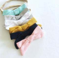 Ella small bows - 6 colours to choose from!