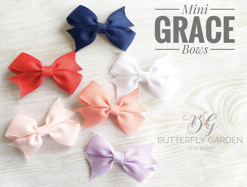 Mini Grace Bow - available in 6 colours!