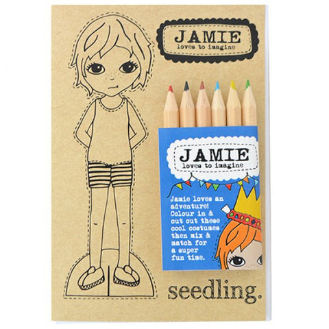 Seedling Jamie Paper Doll Set