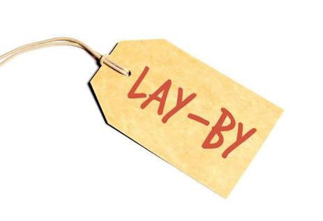 Layby payment for online laybys