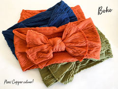 Boho stretch headband - 13 gorgeous colours( new colours just added!