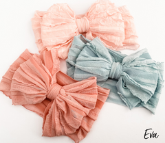 Eva wide headband- 7 colours to choose from