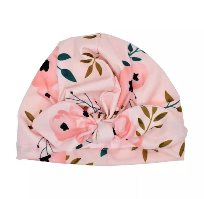 Soft baby Turban- limited edition prints