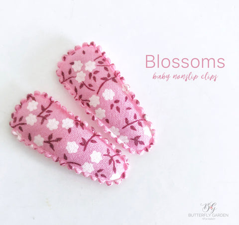Blossoms baby nonslip clip duo