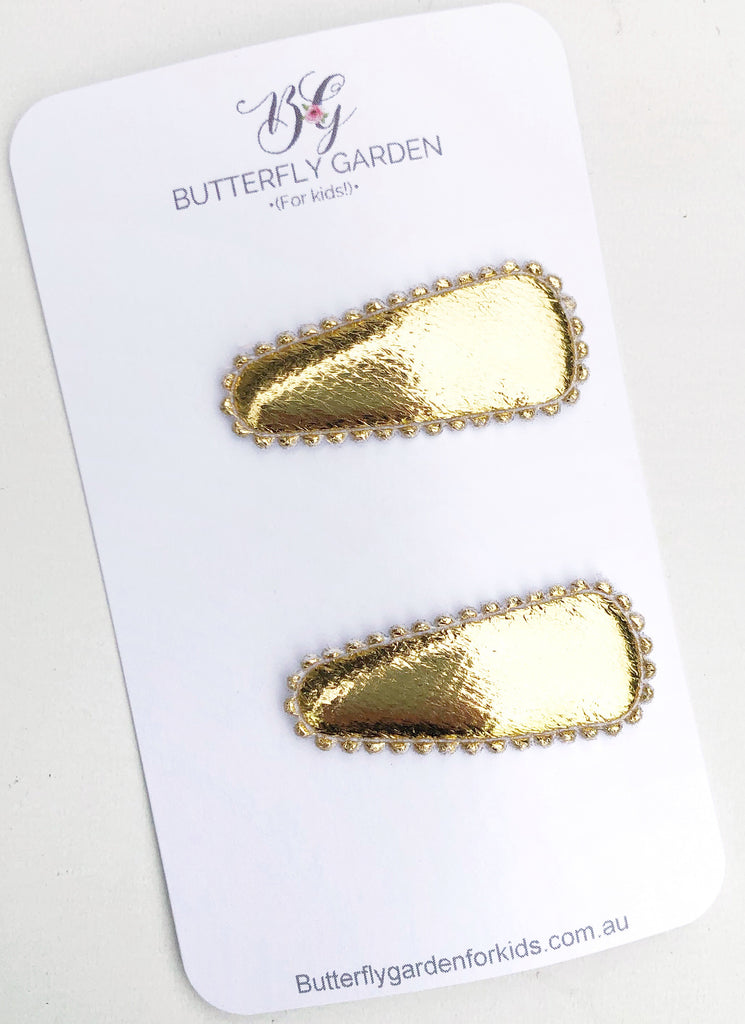 Baby Essentials duo- Gold nonslip clips