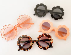 Retro Daisy Sunnies - Crystal pink