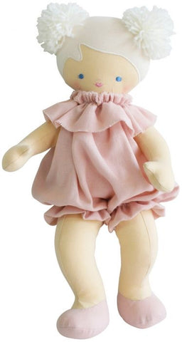 Alimrose Baby Lucy, pink linen