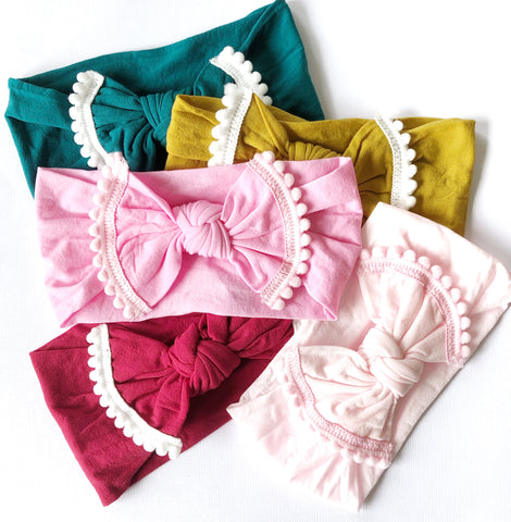 Gypsy stretch headbands - 5 gorgeous colours!