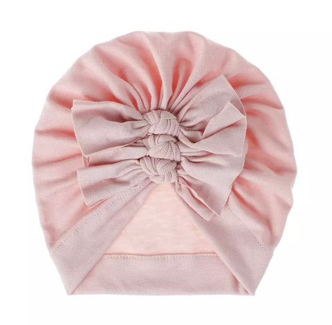 Triple Bow Turban- 4 gorgeous colours!