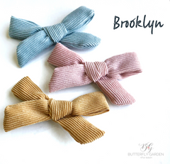 Brooklyn bows - 3 colours to choose from