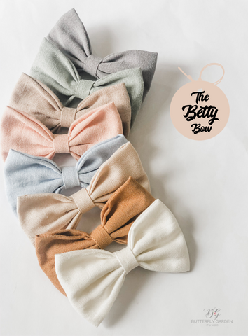 Betty bow- 12 gorgeous colours to choose from!