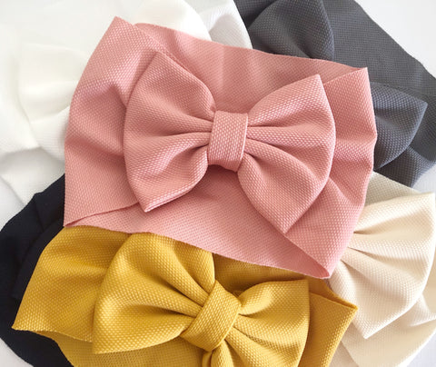 Luna wide headwraps- 9 colours to choose from (including 3 new colours!)