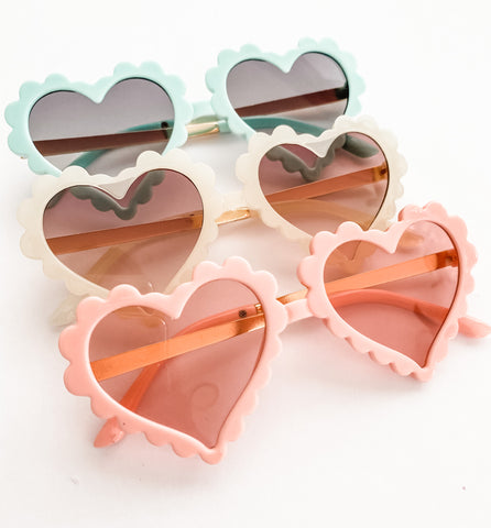 Retro Heart Sunnies