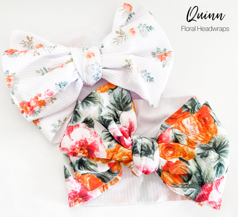 Quinn Big Bow Headwraps