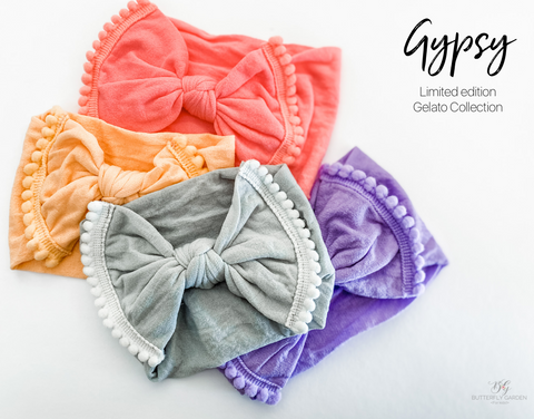 Gypsy wide band headwrap - Limited edition Gelato Collection