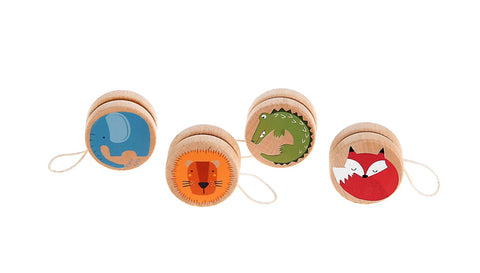 Wooden jungle animal yoyo