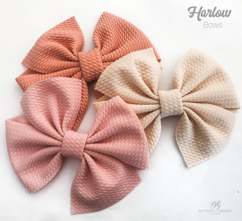 Harlow bows- 5 colours to choose from
