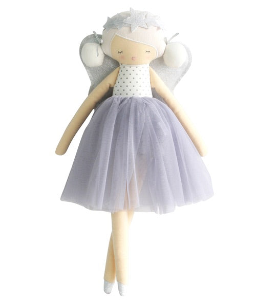 Willow fairy doll lavender 49cm