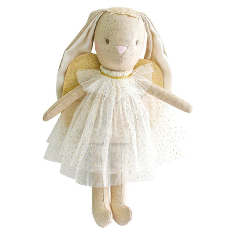 Alimrose Mini Angel Bunny - Ivory