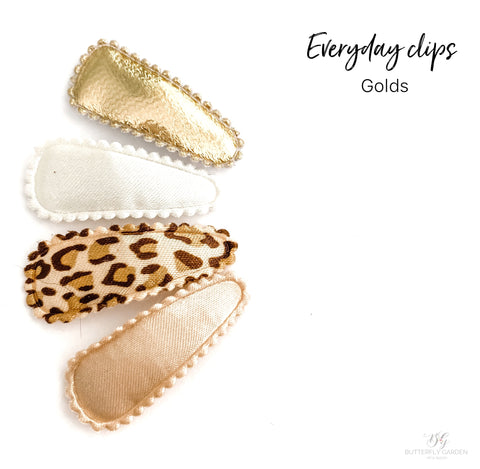 Everyday Baby nonslip clip sets : Golds
