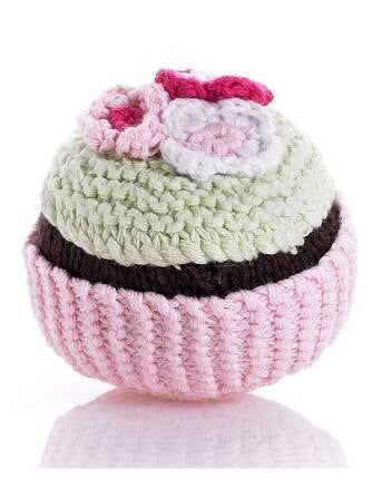 Cupcake Rattle by Pebble