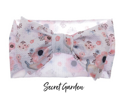 Quinn Big Bow Headwraps - 3 new prints!