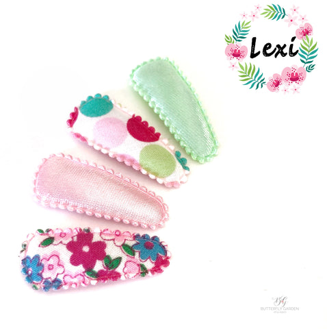 Lexi- set of 4 baby nonslip clips