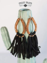 Black Copper Cove Earrings