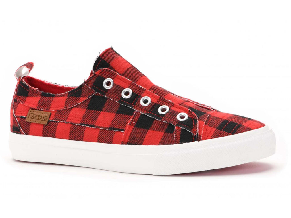 Corkys Red Plaid Babalu