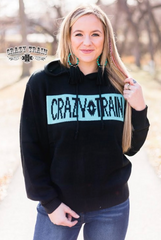 Crazy Train Black Sweater Hoodie