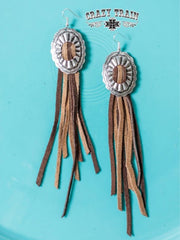 Cowtown Classic Concho Earrings