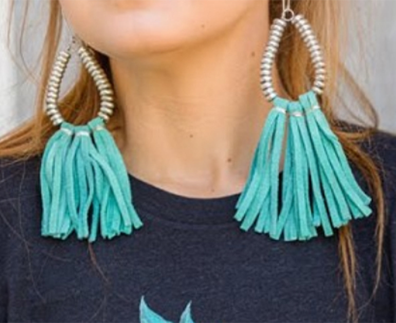 Turquoise Copper Cove Earrings