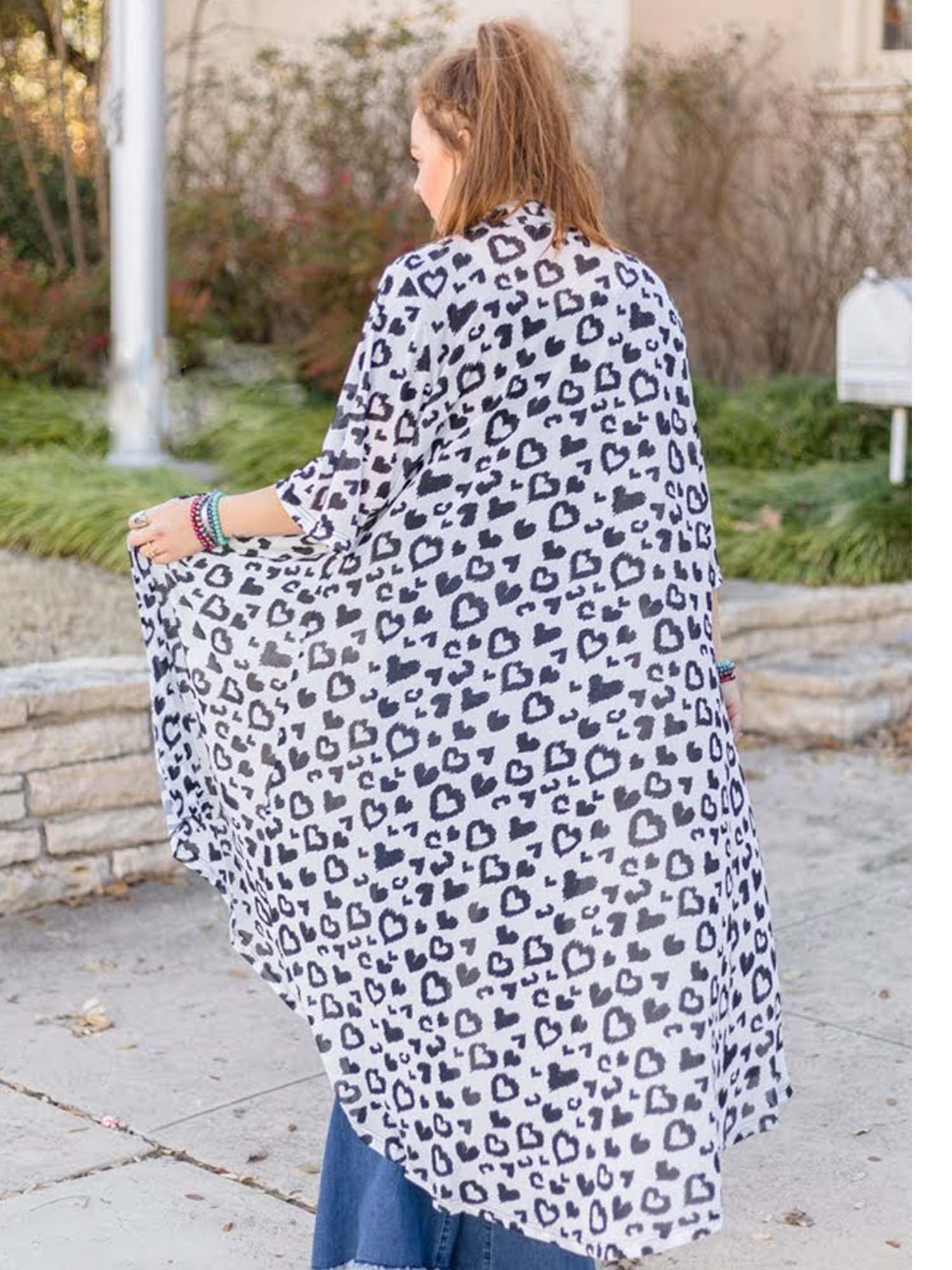 Leopard Love Duster