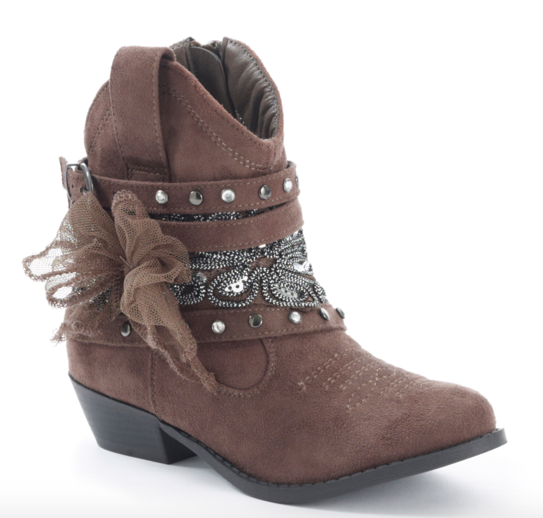 Not Rated Women's Taupe Midas Bootie