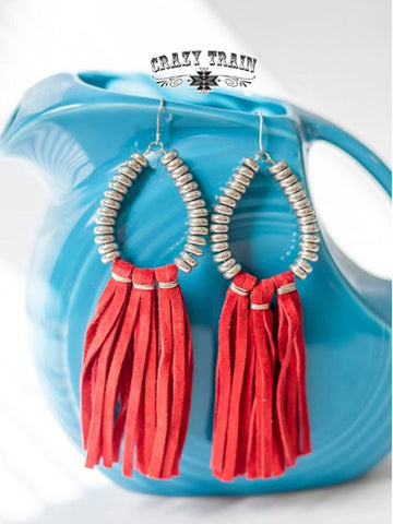 Red Rio Grande Earrings