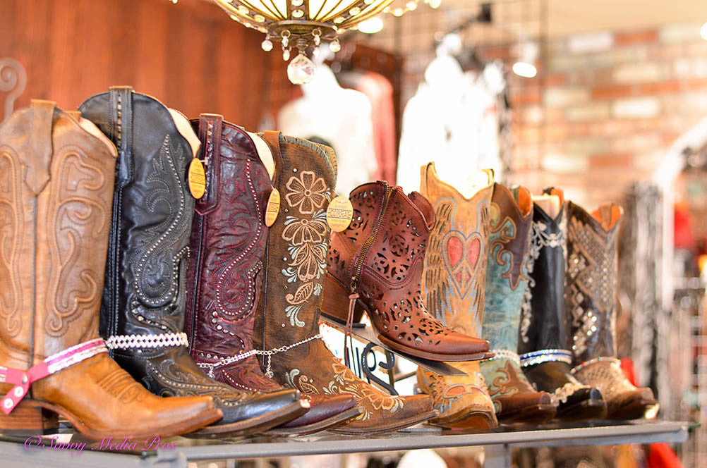 Dusty Rocker Boot Line up at Plan B Fashionista Boutique