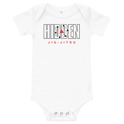 Baby One Piece Hidden Jiu Jitsu White 3