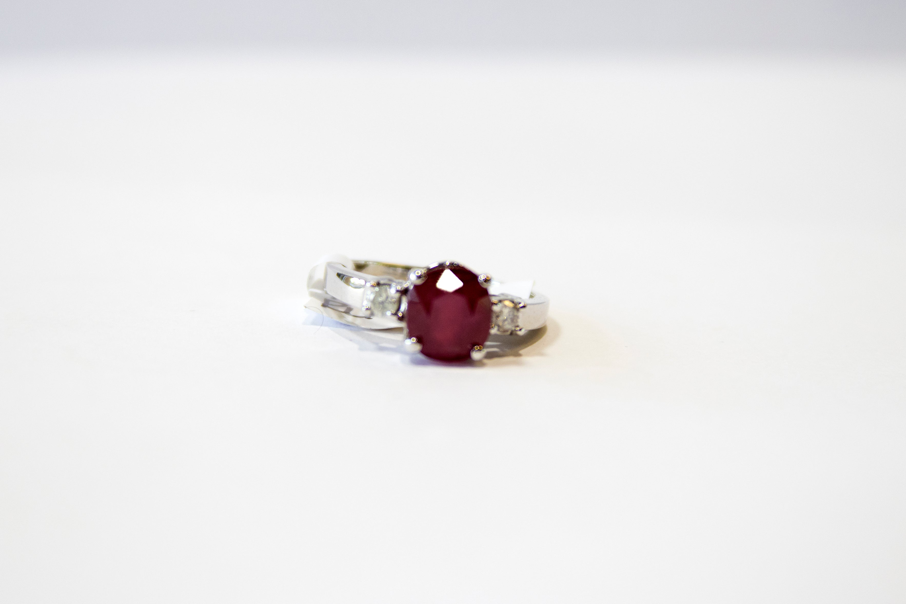 Ruby and Diamond Ring 14k