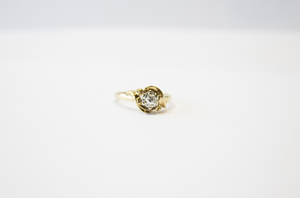 Antique Diamond Ring 14k
