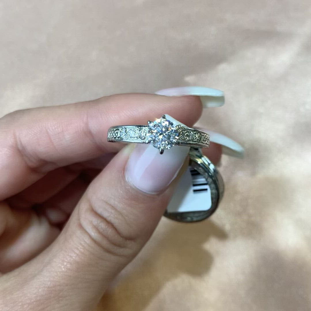 Vintage Classic Diamond Bridal Set 14k/18k
