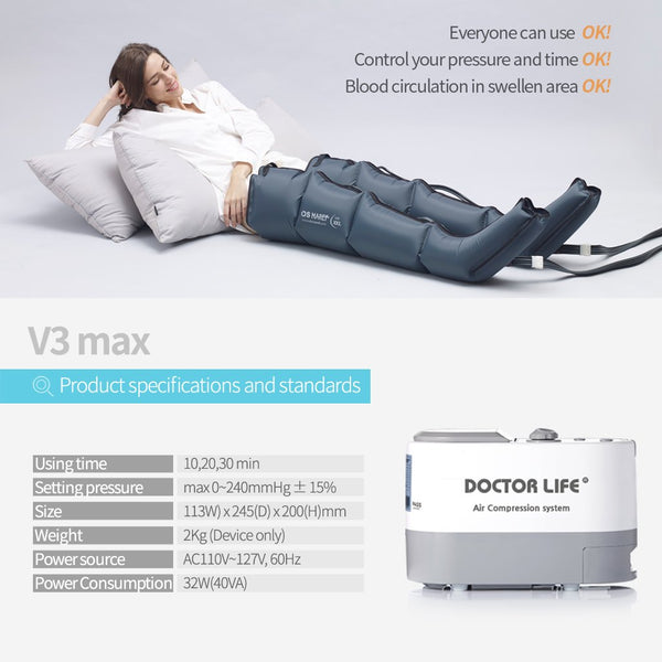 """V3 Max"" Air Compression Recovery System"