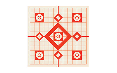 Burris Package Of 10 Targets