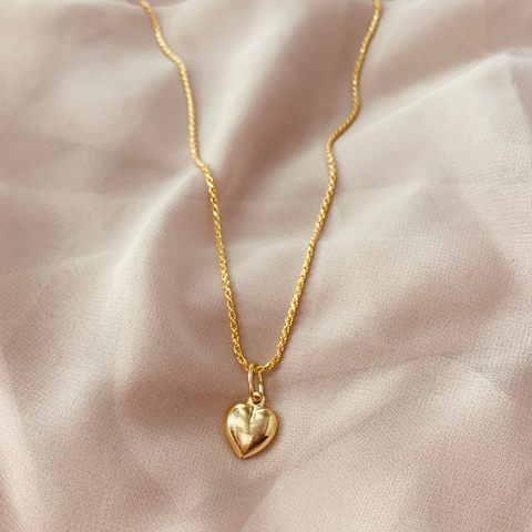 Marie Heart Necklace